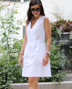 White Sleeveless Dress @cobaltchronicle
