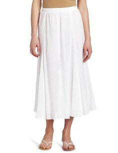Alfred Dunner Women`s Gauze Skirt $13.73