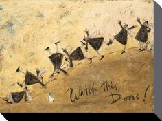'Watch this Doris' by Sam Toft.....unfortunately no direct link for this one - it wasn't me!!!