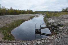 Tässä kuvassa veden pinta on varsin alhaalla. #ympäristösovittelu