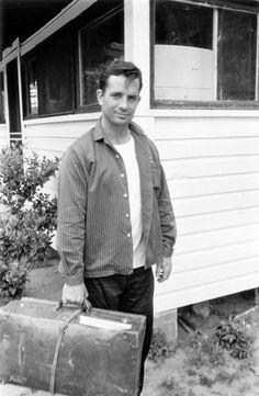 Jack Kerouac  Photo by Robert Frank