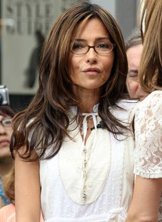 long layers & cute bangs - Vanessa Marcil