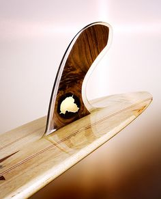 Perhaps the most beautiful surfboard fin I have ever seen.