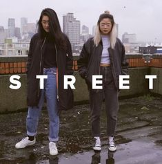Screenshot from ToThe9s's YouTube video - been digging bombers & loving their look as always ❤️   for more inspiration:   #Girls #street #streetlook #streetoutfit #look #photo #streetphoto #photograpy #style #streetstyle #hypebeast