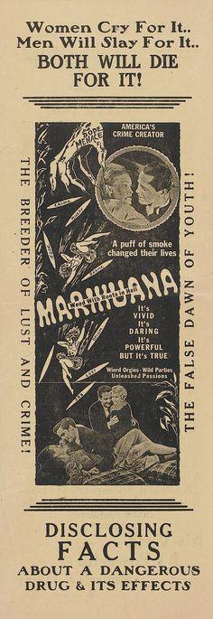 Vintage antidrug ad