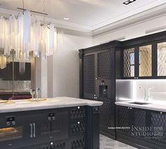 Дизайн-проект интерьера кухни. Архитектор дизайнер Ирина Рихтер INSIDE-STUDIO Прага