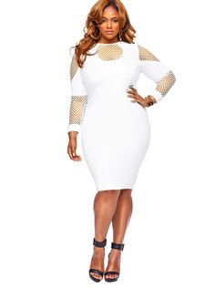 This is everything!!!!  If I were rich, my closet would be full of all of her clothes, she really knows how to design an outfit for the curvy girl.  Love it!  #Monif