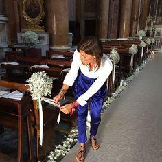 Patrizia and Lele - Decoration eglise - Patrizia and Lele - Decoration church - the