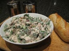 Gwenyth Paltrow's Chicken Salad - don't care whose this is, it looks awesome!