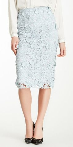Crochet Skirt...looks like lace.