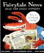 6-Trait Writing Lesson that uses Fairytale News by Colin and Jaqui Hawkins