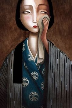 Benjamin Lacombe - Madame Butterfly 14