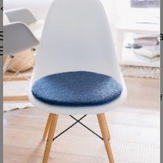 Fantastisch Neu Im Shop Ist Dieses Sitzkissen Für Den Eameschair In 100% Schurwolle Und  In Einem