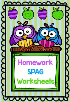 Here are some great worksheets to use with children as homework or even for some consolidation lessons. The worksheets include possessive 's', word families, commas, parts of speech and more. Parts Of Speech, Word Families, Homework, Teaching Resources, Curriculum, Worksheets, Words, School, Children