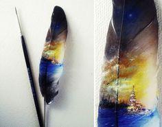 Micro pinturas feitas por Mesut Kul (6)
