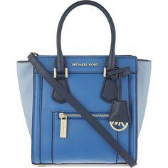Grüner Online Shop: Michael Kors Handtasche COLETTE in Blau