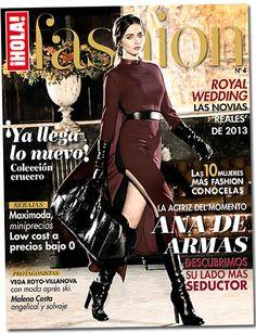 ¡HOLA! Fashion (Enero 2013)  En portada: Ana de Armas  #HOLAFashion #celebrities #covers