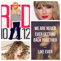 """Taylor Swift  LOVING THE NEW ALBUM """"Red"""""""