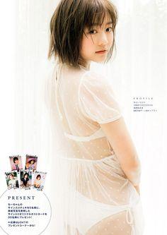 HKT48 Chihiro Anai Hatachi Tabidachi on Manga Action Magazine - JIPX(Japan Idol…