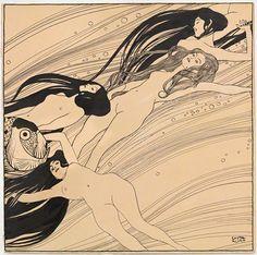 Gustav Klimt - Fish Blood (1897-98)