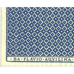 papier Dominoté #51-B by Flavio Aquilina, Italy