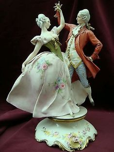 W Fine Porcelain China Diane Japan Porcelain Jewelry, Porcelain Ceramics, China Porcelain, Painted Porcelain, Hand Painted, Art Deco Cards, Dresden Porcelain, Grace And Lace, Indian Dolls