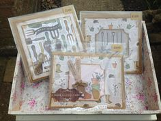 Handmade gardening cards