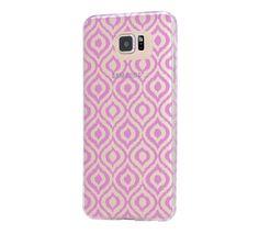 Violet Chevron Print  Samsung Galaxy S6 Edge Clear Case Galaxy S6 Transparnet Case S5 Hard Case iPhone Crystal  Case