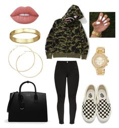 """Chill"" by glowupsquad on Polyvore featuring Vans, CHARLES & KEITH, MICHAEL Michael Kors and Lime Crime"