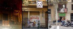 El arte callejero copa los balcones de Barcelona para homenajear a la infancia