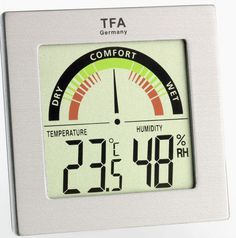 Temperature And Humidity, Wet And Dry, Computer, Digital Alarm Clock, Cooking Timer, 30, Hygrometer, Display, Color