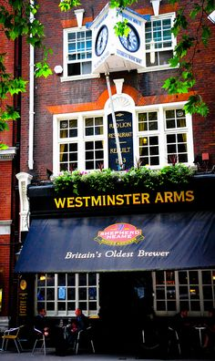Westminster Arms Pub, Storey's Gate, London