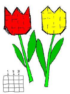Tulp vouwen -- uit de categorie: Moederdag