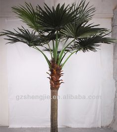 artificial palm tree leaves,large outdoor artificial trees,SJ artificial big tree