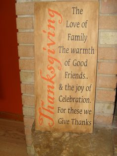 Primitive Hand painted Wood Thanksgiving Sign Beaurtiful Thanksgiving Sign Burnt Orange Lettering for THANKSGIVING and the rest is black Fall Crafts, Holiday Crafts, Holiday Fun, Holiday Ideas, Holiday Decor, Thanksgiving Signs, Thanksgiving Decorations, Fall Decorations, Happy Thanksgiving