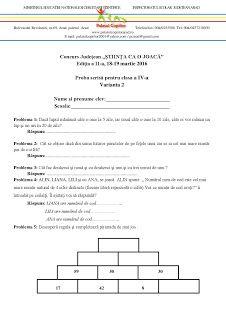 STIINTA CA O JOACA: concurs Periodic Table, Desktop, Periodic Table Chart, Periotic Table