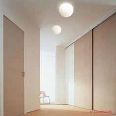Dioscuri Ceiling- Artemide. In room view.