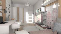 Dormitorios infantiles de estilo moderno por Designbox Marta Bednarska-Małek