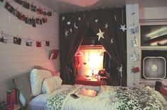 This is for a college dorm room, but also give me some good ideas for small rooms!