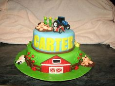 Farm/Tractor Cake
