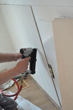 Remodeling Bathroom With Beadboard installing bead board:want to do this in our half bath | for the