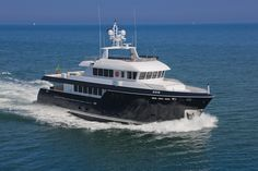 Cantiere Delle Marche | Darwin 96 'StellaDiMare' Luxury Boats, Luxury Yachts, Sailing Yachts, Yacht Boat, Trawler Yacht, Explorer Yacht, Expedition Yachts, Yacht Design, Motor Yacht