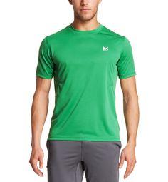 VaporActive Alpha Short Sleeve Athletic Shirt   Forest Green