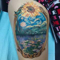 Sunflower Tattoo Sleeve, Sunflower Tattoo Shoulder, Sunflower Tattoo Small, Sunflower Tattoo Design, Black Tattoos, Body Art Tattoos, Sleeve Tattoos, Cool Tattoos, Tattoo Ink