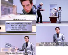 Been referencing this! Ben Stiller, Love Puns, Zoolander, Moving Pictures, Wtf Funny, Best Actor, Movie Quotes, Knock Knock, Laugh Out Loud
