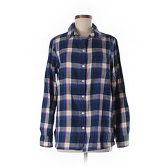 Old Navy Long Sleeve Button Down Shirt ($15) ❤ liked on Polyvore featuring tops, blue, blue button up shirt, long sleeve tops, long sleeve shirts, long sleeve cotton shirts and blue shirt