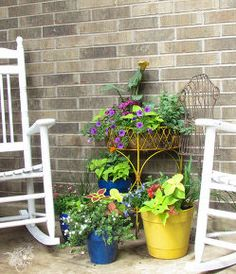 the secret to perfectly composed planters, container gardening, flowers, gardening, porches
