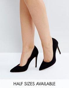 d6c15bc73e9 DESIGN Paris pointed high heeled pumps in black