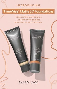 Our new truetoyou shades TimeWise Foundation infuses skin with agedefying ingredients for a flawless instantly youngerlooking complexion Mary Kay Mary Kay Foundation, Foundation For Oily Skin, Matte Foundation, Powder Foundation, Mary Kay Cosmetics, Imagenes Mary Kay, Selling Mary Kay, Mary Kay Ash, Makeup Eyes