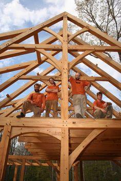 LongHall Timber Frame